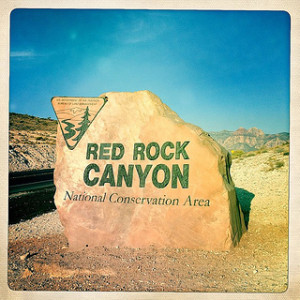 Red Rock National Conservation Area Sign