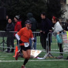 David finishing the race