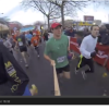 Video selfie at the race